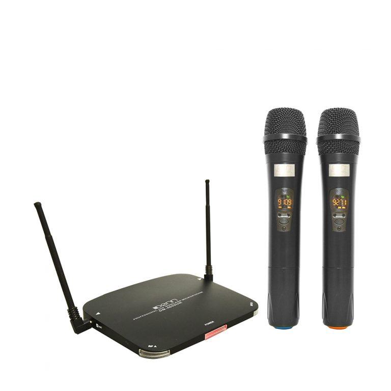 Denn DM-4655UR Ultra High Frequency (UHF) Wireless Microphone