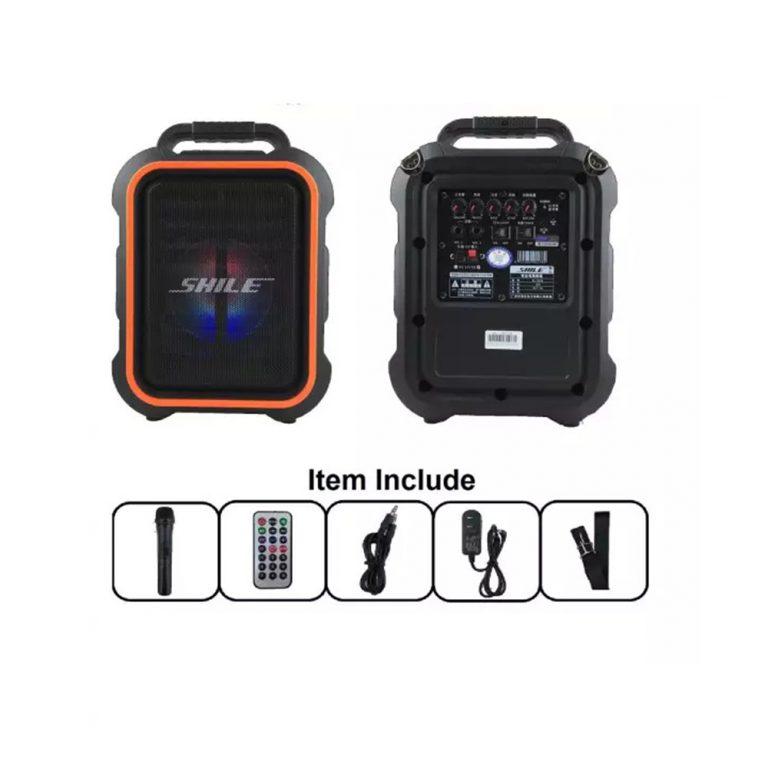 SHILE AC/DC Portable Speaker PA System (1 Handheld) SL2016