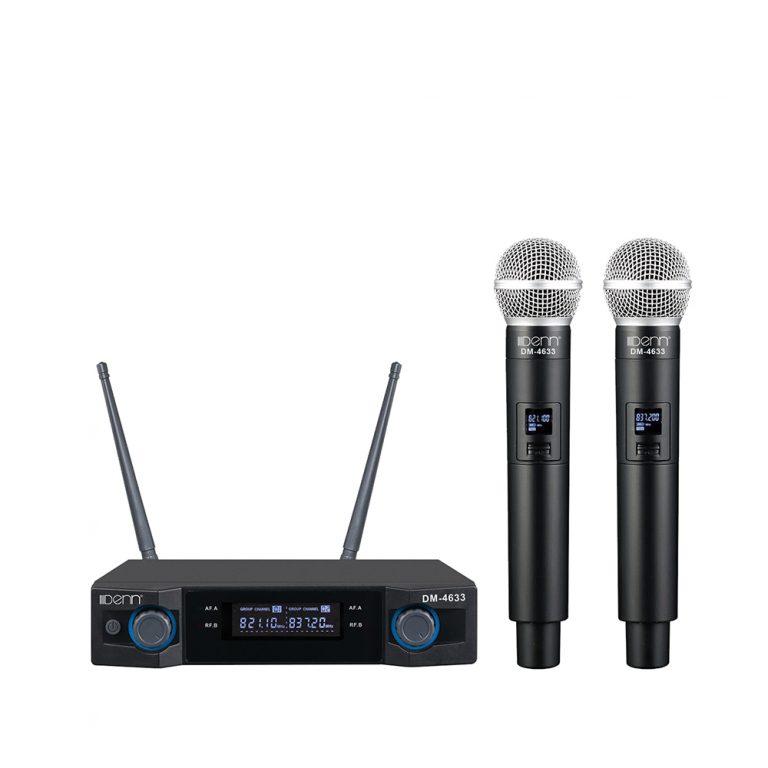 Denn DM-4633 Ultra High Frequency (UHF) Wireless Microphone