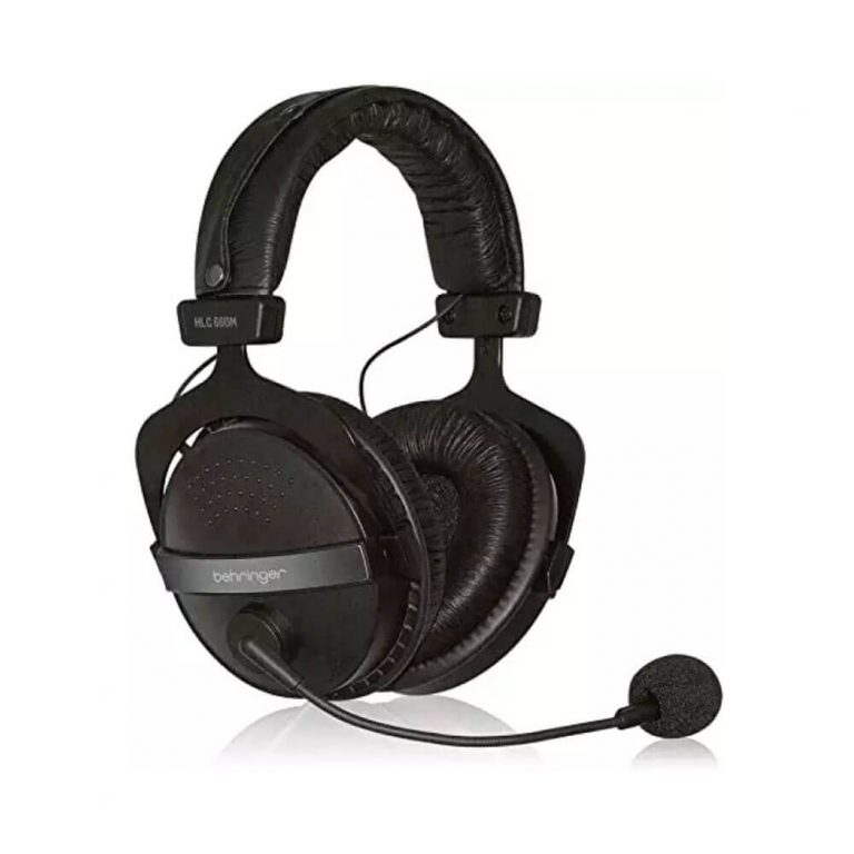 BEHRINGER HLC-660M Multipurpose Headphones with Built-In Microphone (HLC660M)