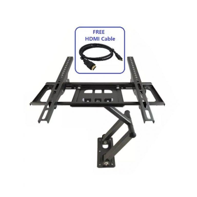 Universal Single Arm Full Motion LCD/LED TV Bracket Wall Mount 26~55″