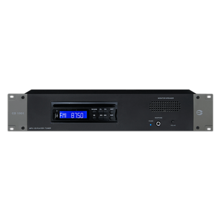 CD1001 DVD/ CD/ Tuner / USB Player 