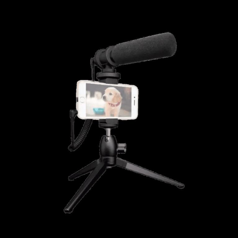 MAONO AU-CM10S Smartphone DSLR Camera Video Microphone Kit Condenser Vlog Interview Mic