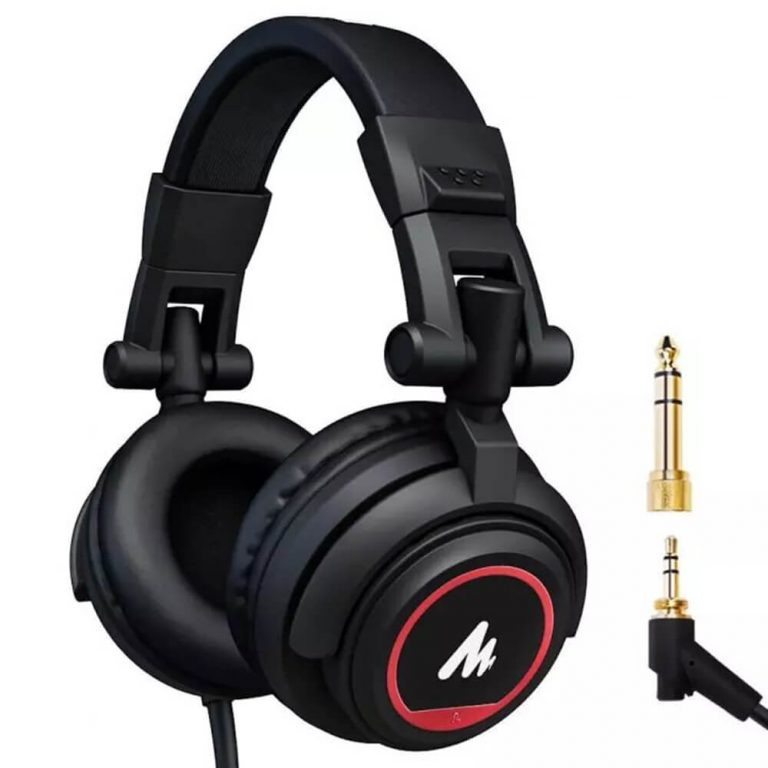 MAONO AU-MH501 Professional Studio Monitor Headphones Over Ear with 50mm Driver