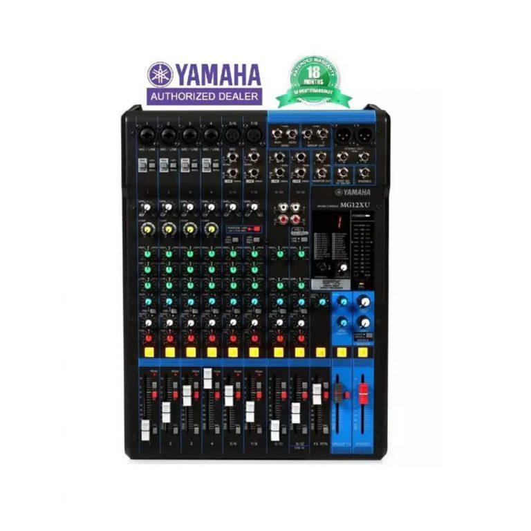 Yamaha MG12XU 12-Input Mixer with Effects (18 month warranty)