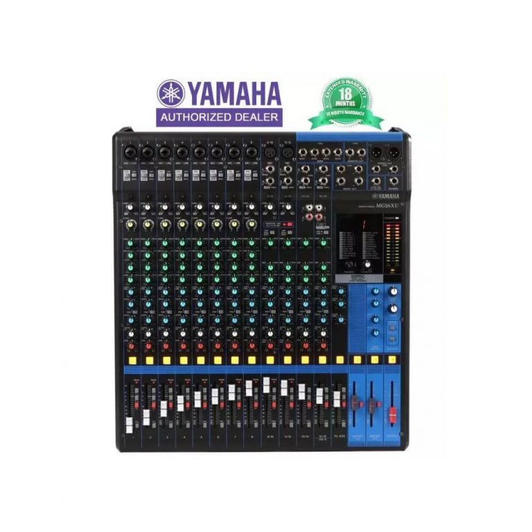 Yamaha MG16XU 16-Input Mixer with Effects (18month Warranty)
