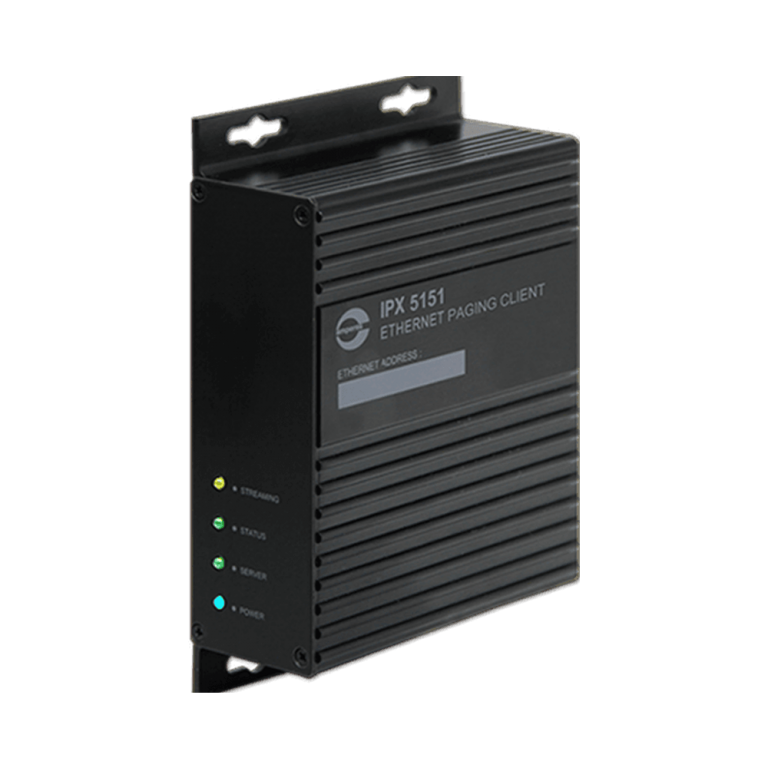 iPX5151 Ethernet Paging Client