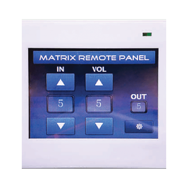 RP1104 Touch Screen Matrix Remote Control Panel